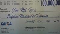 Câmara devolve R$ 100 mil à Prefeitura para combate à Covid-19
