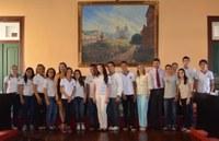 Câmara Jovem realiza a primeira sessão no Plenário Sebastião de Lacerda.