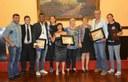 Câmara municipal homenageia atletas da cidade