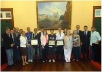Câmara Municipal homenageia atletas de Vassouras que se destacaram no ano de 2013