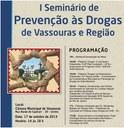 Câmara Municipal realiza o 1º Seminário de Prevenção às Drogas