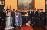 Câmara Municipal realiza Sessão Solene comemorativa do 156º de elevação de Vila de Vassouras a categoria de Cidade.