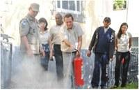 Corpo de Bombeiros promove curso para servidores da Câmara