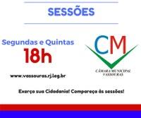 Novos horários das Sessões
