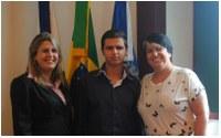 Deputada Inês Pandeló visitou Câmara Municipal