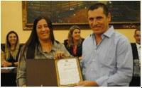 Zé Alencar recebe Moção de Congratulações
